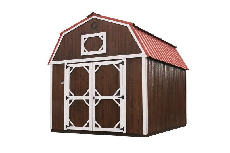 brown Graceland lofted barn