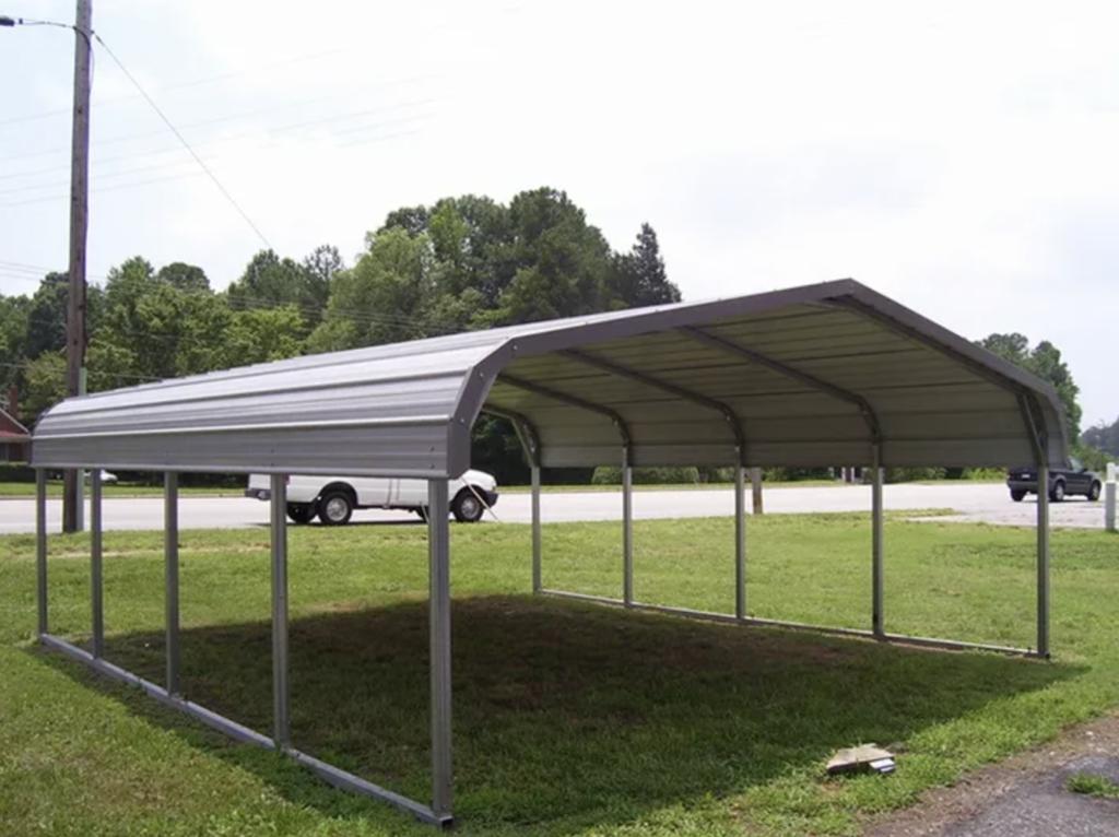 metal low carport